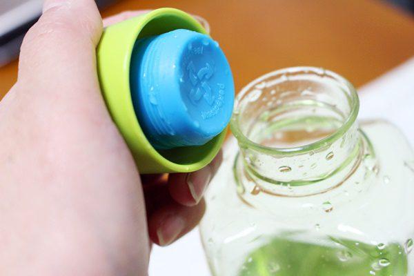 パール金属 水筒 700ml 直飲み PCアクア ボトル グリーン ブロックスタイル H-6058