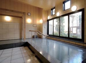 主浴槽(源泉循環式)