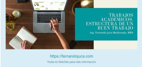 """Curso Online """"Estructura de los Trabajos Académicos"""""""