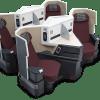 2017年版 ハワイ旅行ホノルル行きビジネスクラス「フル・フラットシート」の機材をご紹介!