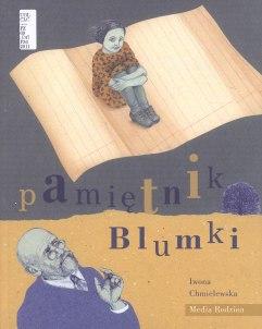 """Cover of """"Pamiętnik Blumki"""" by Iwona Chmielewska"""