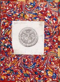 Cover of a rare Persian lithograph book