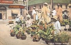 Flower Vendors, Manila