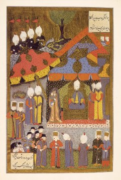 Süleyman the Magnificent Receiving Isabelle, the Queen of Spain