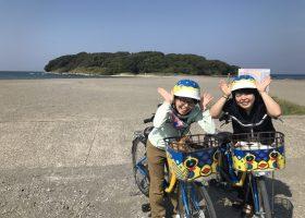 館山には、さかなクンなデザインの面白いレンタルサイクルがあります!