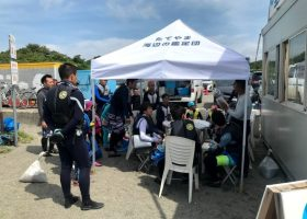 夏の活動報告:シュノーケリング体験・沖の島公園ビジターセンター・沖ノ島環境保全協力金