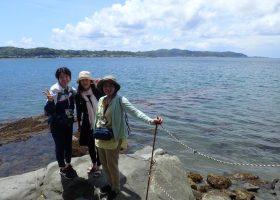 沖ノ島の様子 GWの様子