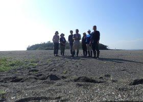 ちょっと前ですが、沖ノ島森の再生活動実施しました。2020年7月31日