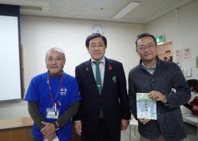 高田宏臣氏講演会「館山の海と山野を未来に繋ぐために」11/28(土)開催しました!