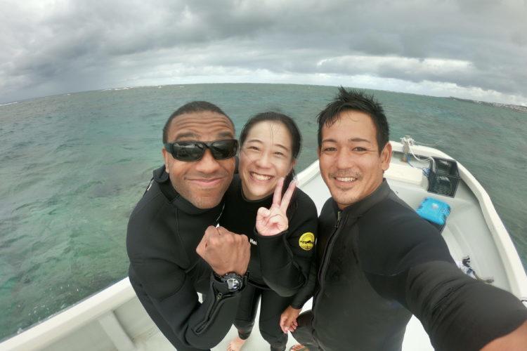 沖縄読谷で海人体験ハネムーン