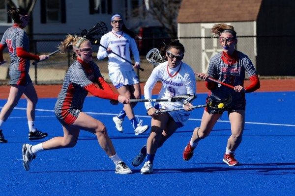 Women's lacrosse comes back, battles to 11-9 loss against Dartmouth