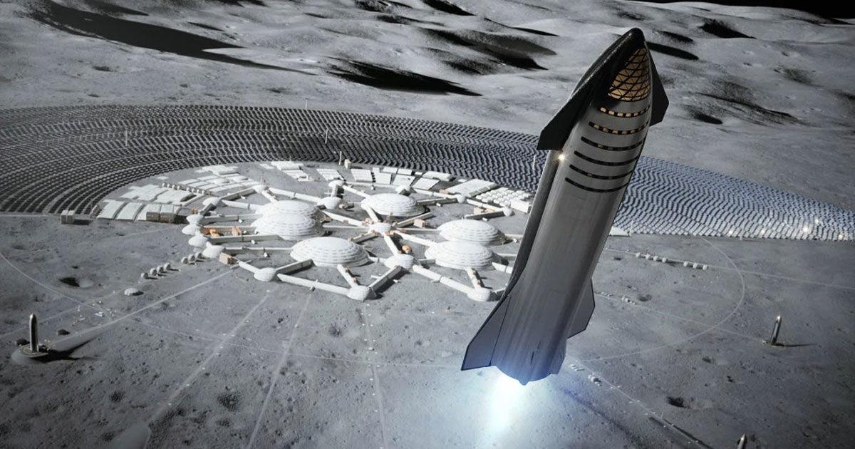 شركة سبيس إكس تخطط لإرسال مركبتها «ستارشيب» إلى القمر بحلول العام 2022