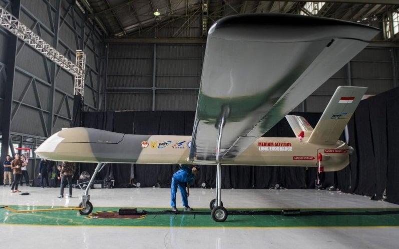 PUNA MALE، طائرة مسيرة تملكها الإندونيسية جاهزة للقتال في عام 2024