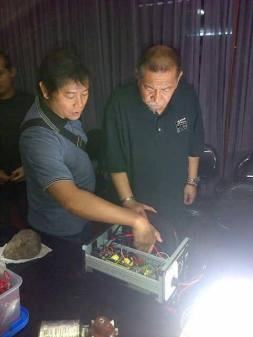 Presentasi dan demo GTBB pada Wakil Gubernur Jawa Barat, Deddy Mizwar