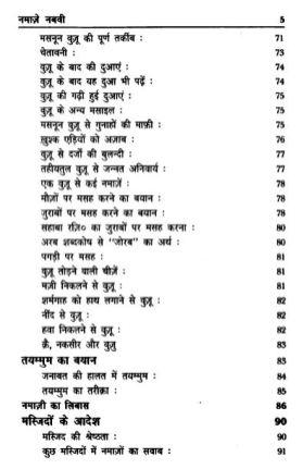 Namaze Nabawi in Hindi Pdf free Download 5