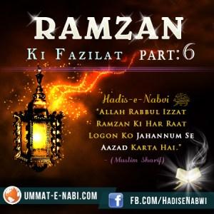 Ramzan Ki Fazilat 6