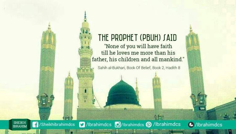 None of you will have faith till he loves me more than his father