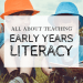 early years literacy, reading, writing for children