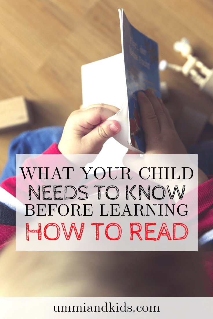 Print awareness | help children learn how to read