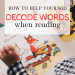 How to decode words when reading | Phonics| High-Frequency words | Sight Words