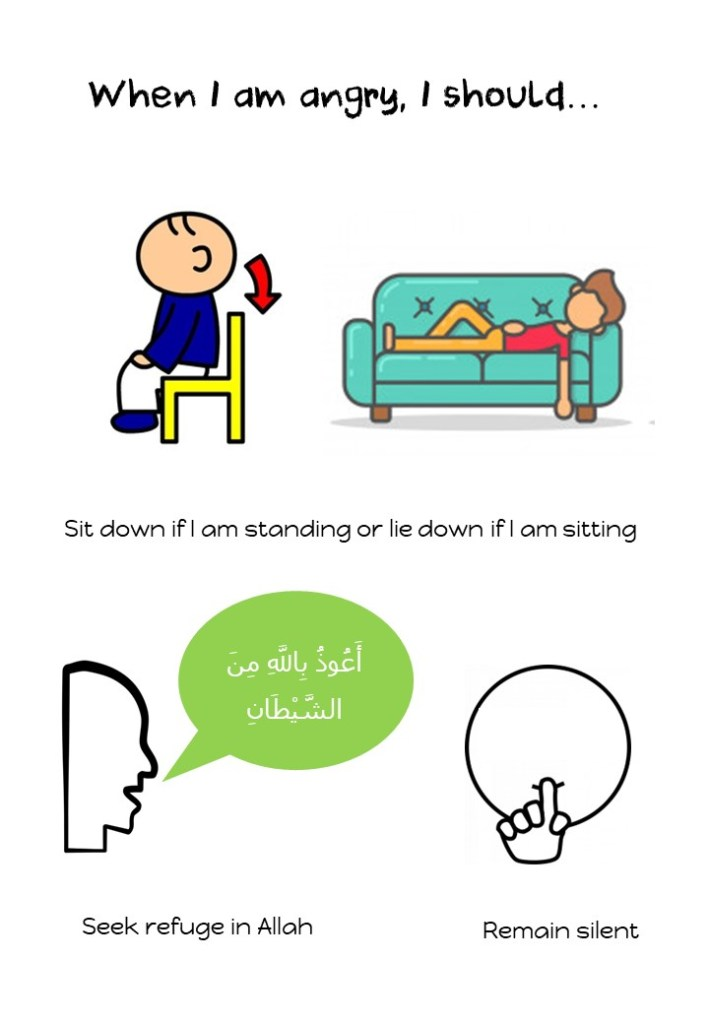 when your child throw a tantrum | Helping to manage anger according to sunnah