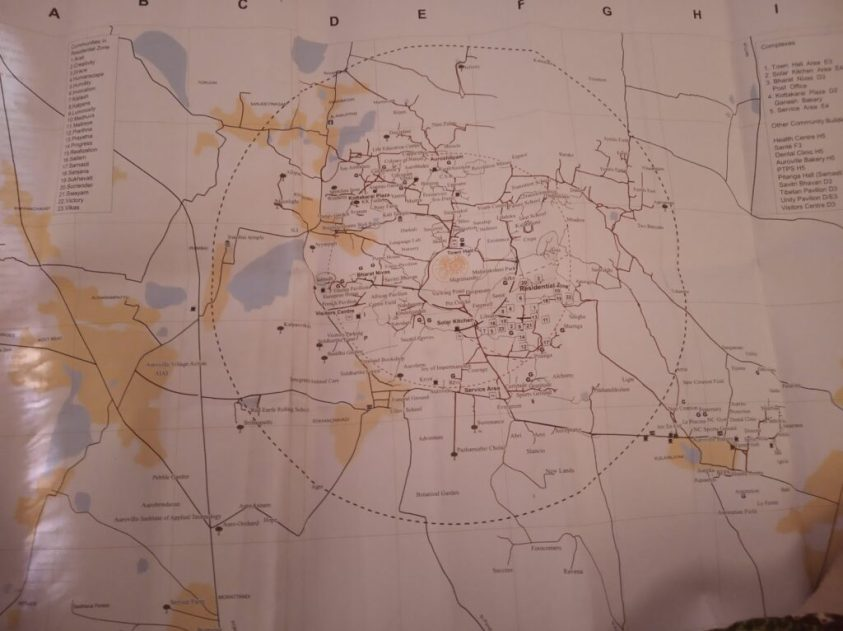 Map of Auroville