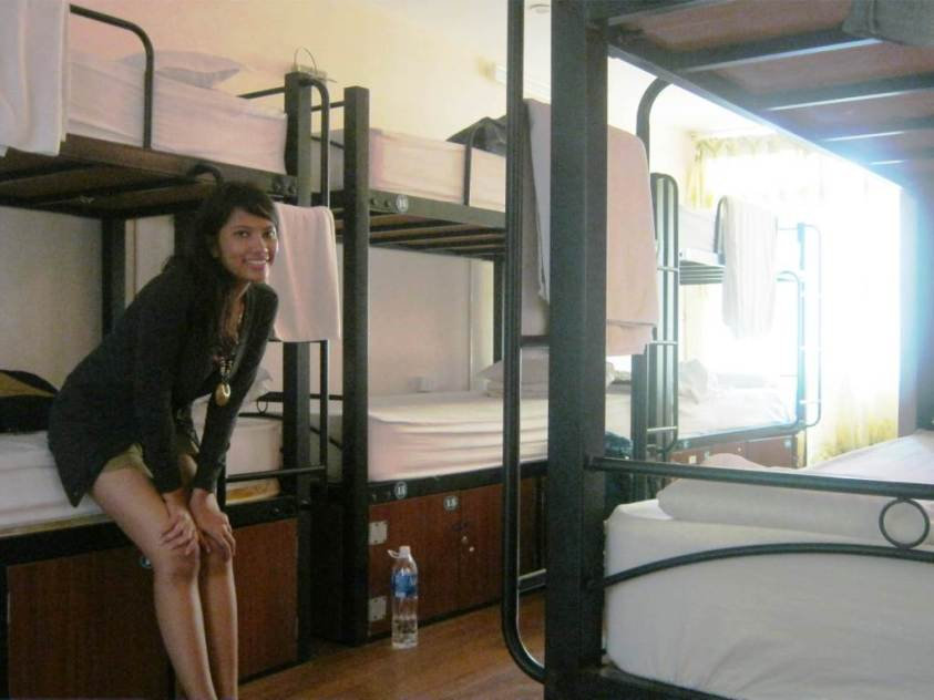 Me in dormitory room hostel in Hanoi | Ummi Goes Where?