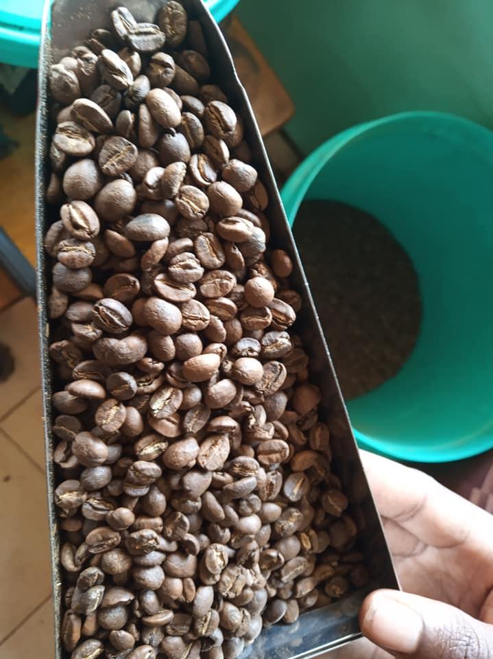 Medium roast Kenyan coffee