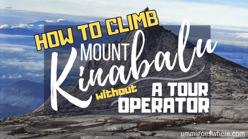 How to Climb Mount Kinabalu Without a Tour Operator | Ummi Goes Where?
