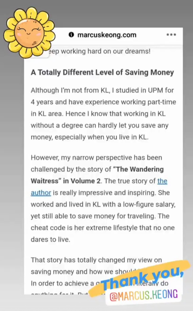 Money Stories from Malaysians Volume 2 review