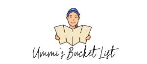 Ummi's bucket list logo | Ummi Goes Where?