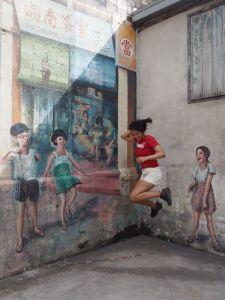 Chinatown street art | Ummi Goes Where?