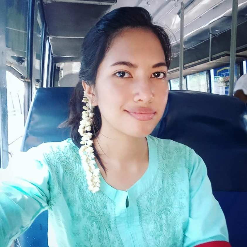 On the bus from Chennai to Auroville