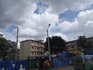 Where Obama used to live in Nairobi