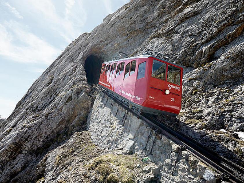 Mount Pilatus cogwheel railway