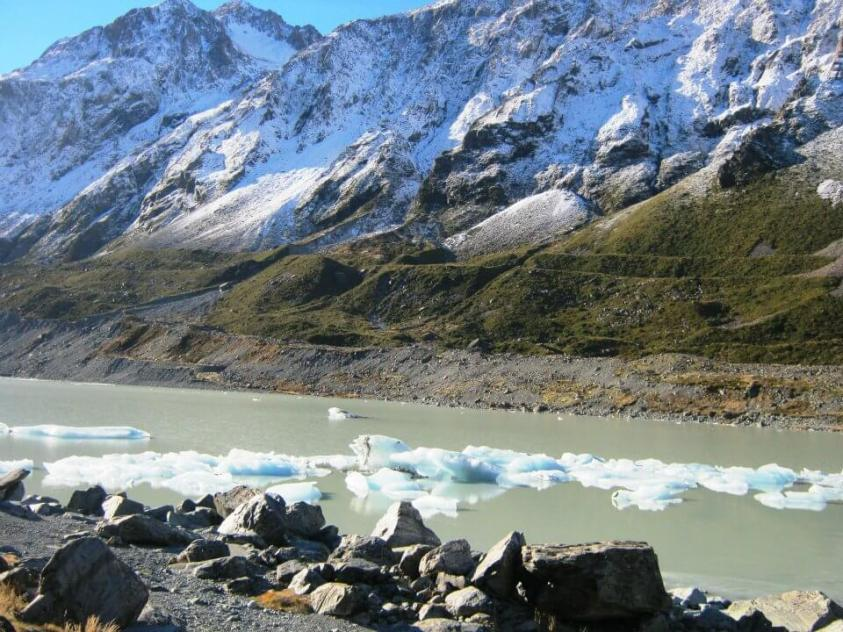 Hooker Lake Mount Cook New Zealand