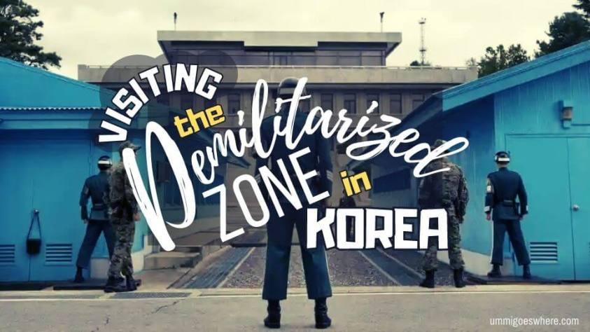 Visiting the DMZ in Korea
