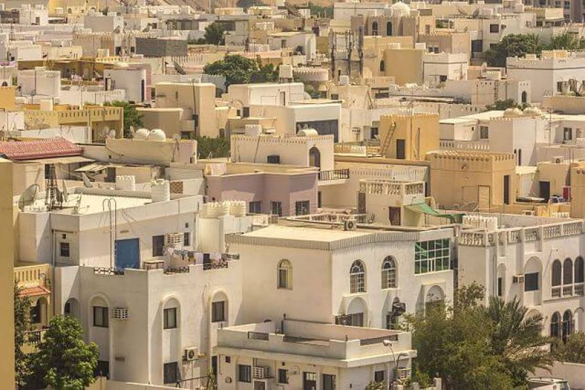 Muscat houses