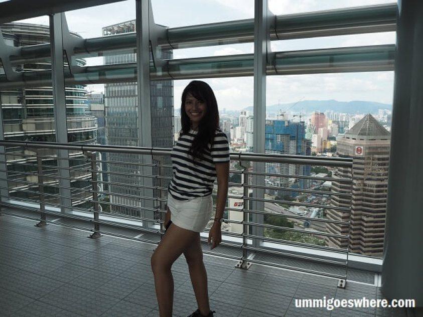 Visiting KLCC Skybridge Petronas Twin Towers