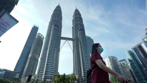 Petronas Twin Towers during Pandemic