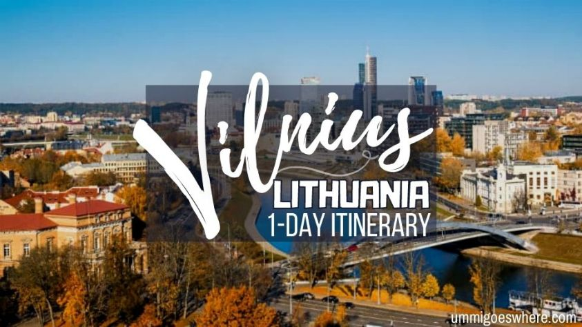 One Perfect Day in Vilnius Itinerary