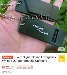 Shopee Emergency Whistle