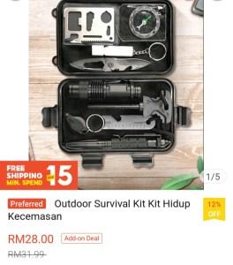 Shopee survival kit