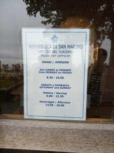 Stamp passport at San Marino | Ummi Goes Where?