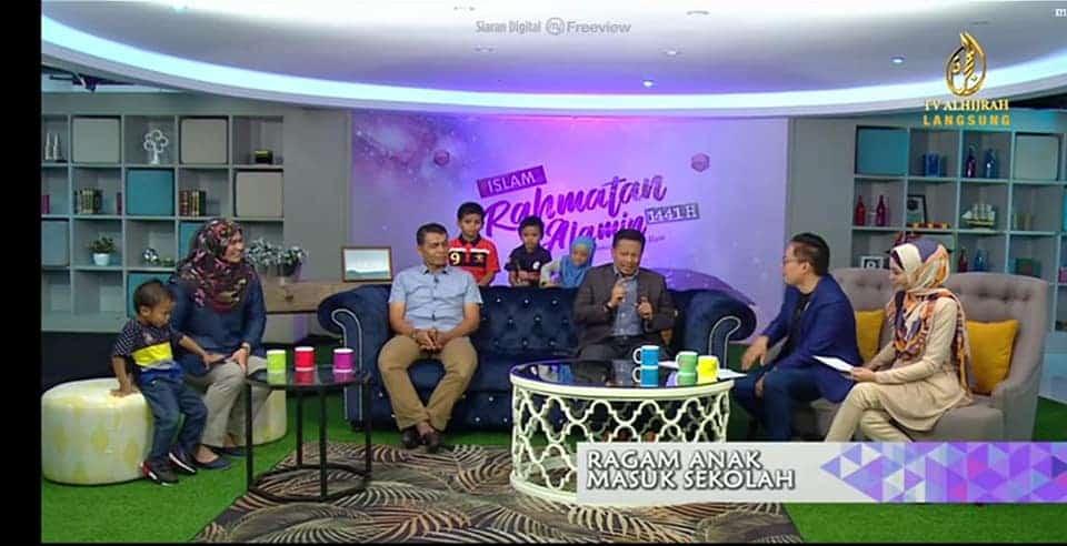 Tawaran masuk TV Al Hijrah