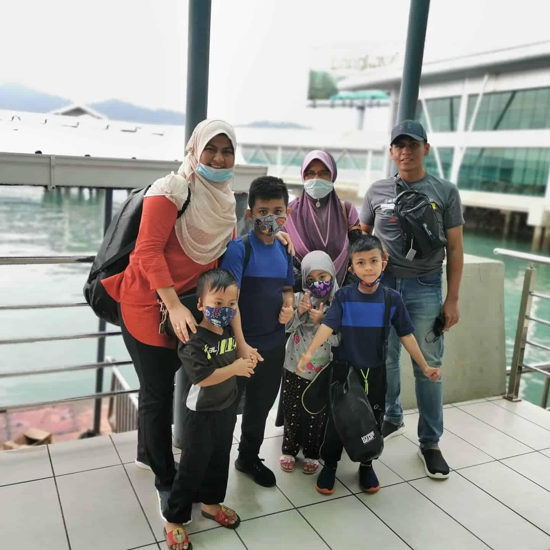 percutian ke Langkawi bersama keluarga