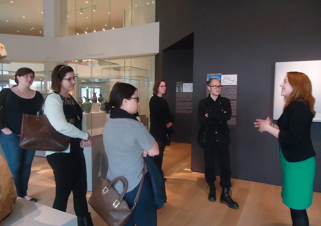 MSP14 at Art Institute with MSP05 Katie Raff