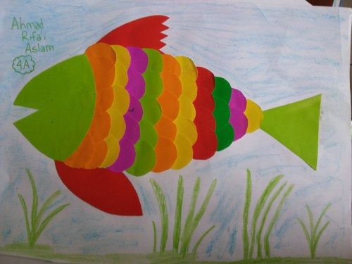 Gambar Ikan Origami
