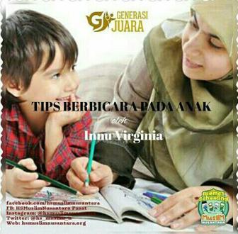 Tips Berbicara Pada Anak