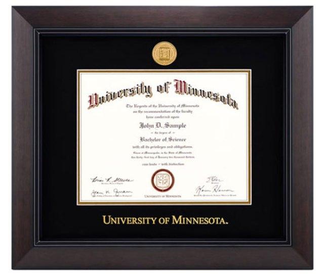 The Legacy Diploma Frame